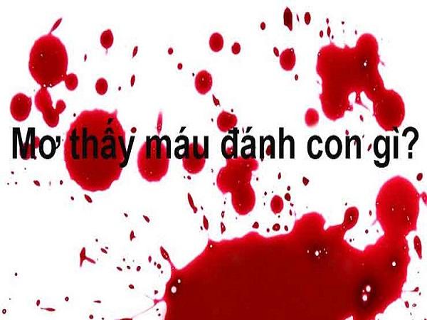 Nằm mơ thấy máu là điềm báo dữ hay lành - mơ thấy máu đánh con gì?