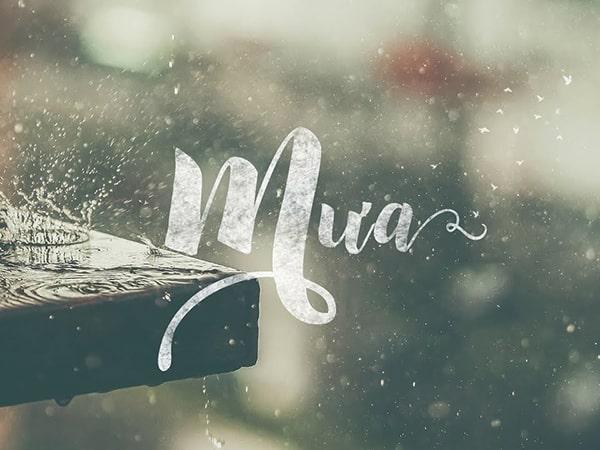 Mơ thấy mưa là điềm báo dữ hay lành - Đánh con số nào?