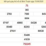Dự đoán xổ số Bình Thuận 13-08-2020 chính xác hôm nay