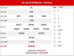 Dự đoán XSDN ngày 23/9/2020 – Dự đoán KQXS Đồng Nai thứ 4