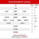 Dự đoán XSQT ngày 1/10/2020 – Dự đoán KQXS Quảng Trị thứ 5