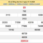 Tổng hợp dự đoán KQXSDN ngày 28/10/2020- xổ số đồng nai