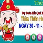 Dự đoán XSTTH ngày 30/11/2020 – Dự đoán KQXS Thừa Thiên Huế thứ 2