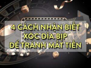 Nhận biết cờ bạc bịp xóc đĩa thông qua những yếu tố nào