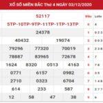 SXMB ngày 3/12/2020 – Chốt số dự đoán kết quả XSMB thứ 5