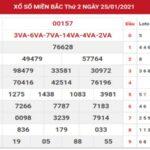 Dự đoán thống kê kết quả XSMB ngày 26/1/2021 hôm nay