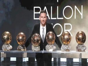 Bạn có biết Messi có bao nhiêu quả bóng vàng không?