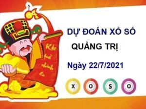 Dự đoán XSQT ngày 22/7/2021 chốt lô số đẹp đài Quảng Trị