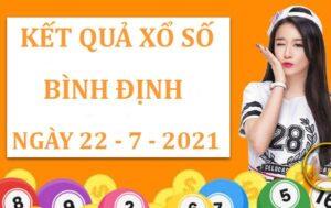 Dự đoán kết quả xổ số Bình Định thứ 5 ngày 22/7/2021
